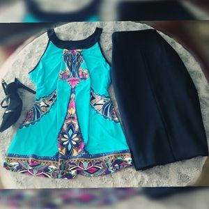 Pretty patterned blouse